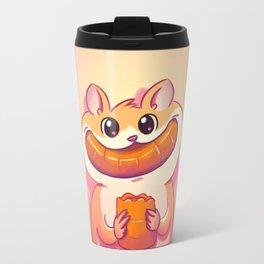 Hamster Happiness Travel Mug