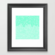 Becho Rays Framed Art Print