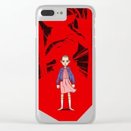 StrangerThings Clear iPhone Case