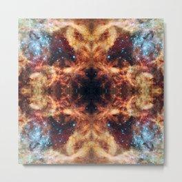 Space Mandala 08 Metal Print