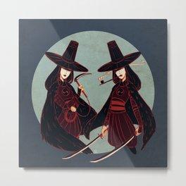 The Sisters Metal Print