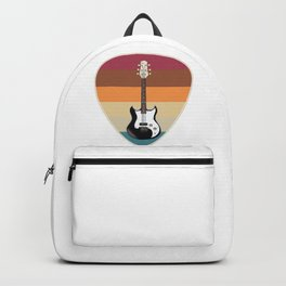 Gift Guitarist Guitar Picks Backpack