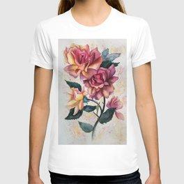 Fresh Tea Roses T-shirt