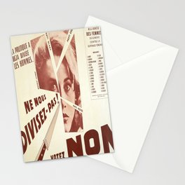 Plakat la politique a deja divisez les Stationery Cards