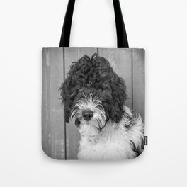 Thoughtful Labradoodle Tote Bag
