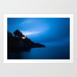 Early Light Over Fundy.  Canada Creek, Nova Scotia. Art Print
