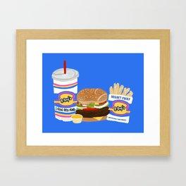 B-Bop's Framed Art Print