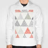 triangle Hoodies featuring Triangle by samedia