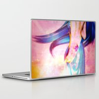body Laptop & iPad Skins featuring Body by haroulita