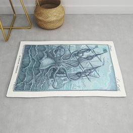 Vintage Colossal Squid Rug