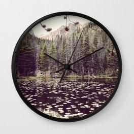 Nymphs Wall Clock