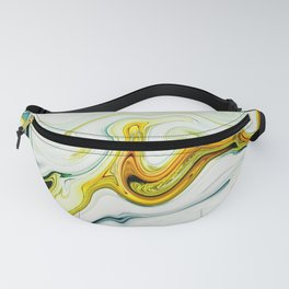 Colorful Marble Pattern Fanny Pack