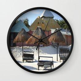 Carribean sea 16 Wall Clock