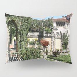 Villa Vizcaya Garden View Pillow Sham