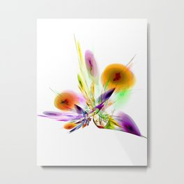 Ikebana Arranged 2 Metal Print