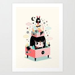 Magic Box Art Print