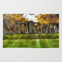 Henge at Sunsleep - Stonehenge Rug