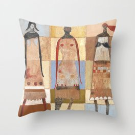 A Part Of Us Throw Pillow