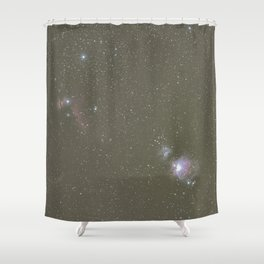 Orion objects Shower Curtain