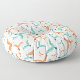 Kitty Cat Feather Toy Floor Pillow
