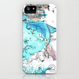A Fractured Sea iPhone Case