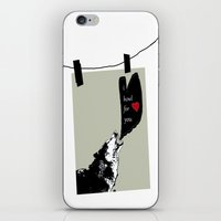georgia iPhone & iPod Skins featuring georgia by love is possible