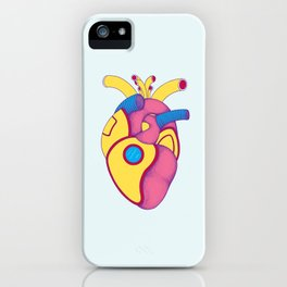 Yellow Submarine Heart iPhone Case