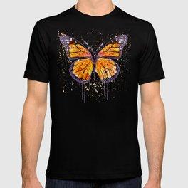 Monarch Butterfly watercolor T-shirt