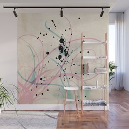 Squiggle Art Wall Mural