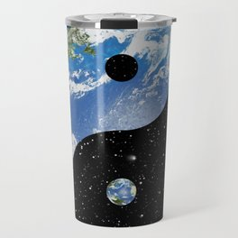 Earth / Space Yin Yang Travel Mug
