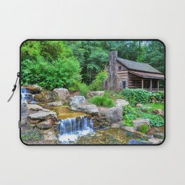 Cabin at the Botanical Gardens in Clemson Laptop Sleeve