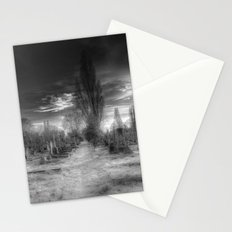 Ghostly Kensal Green Cemetery London Stationery Cards