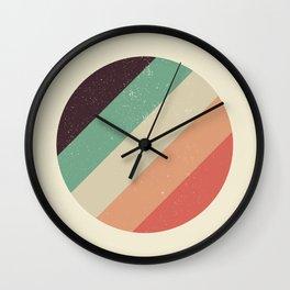 Distressed Circle Wall Clock
