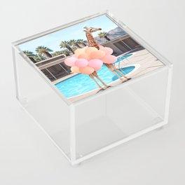 Giraffe Palm Springs Acrylic Box
