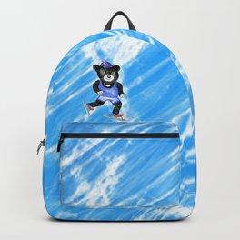 Skating bear Backpack