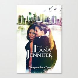 Lana & Jennifer Canvas Print