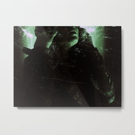 Suicide Witch in Critique I Metal Print