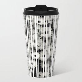 Flower Bars Metal Travel Mug
