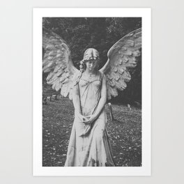 Angel no. 2 Art Print