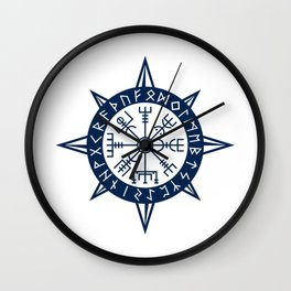 Vegvisir Viking Compass Wall Clock
