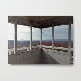 Yellow Mtn. Fire Tower Metal Print