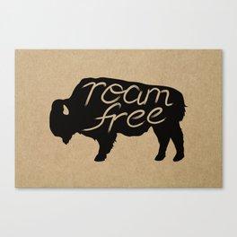 Roam Free Canvas Print