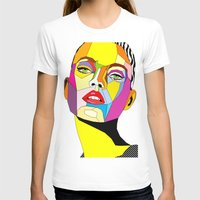 model T-shirts featuring Model by Floridana Oana