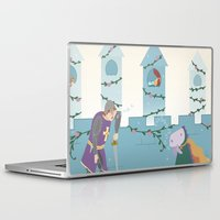 sleep Laptop & iPad Skins featuring Sleep by Loezelot