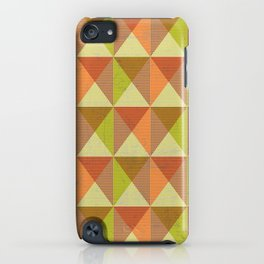 Triangle Diamond Grid iPhone Case