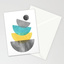 Mid Century Scandinavian Stationery Cards