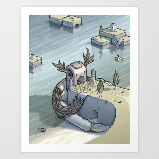 Fools Rush In Art Print