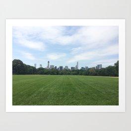 Central Park Grounds Art Print