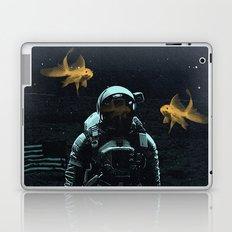 Space goldfish Laptop & iPad Skin
