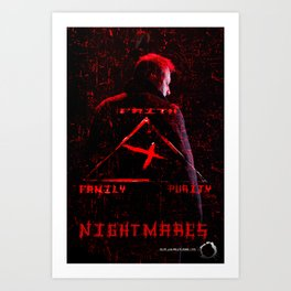 Nightmares movie  poster Art Print